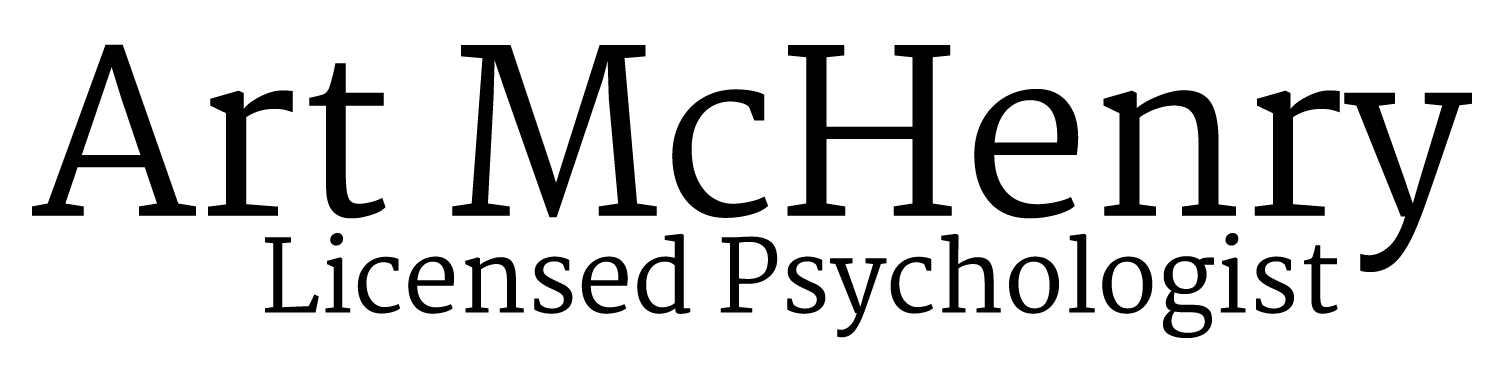 Art McHenry Licensed Psychologist